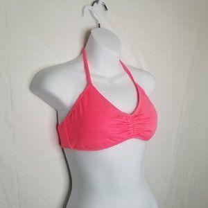 Victoria's Secret Pink Ruched Center Bikini Top
